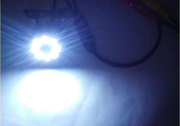 Universal Car Backup Camera Night Vision with 8PCS Super Bright LED