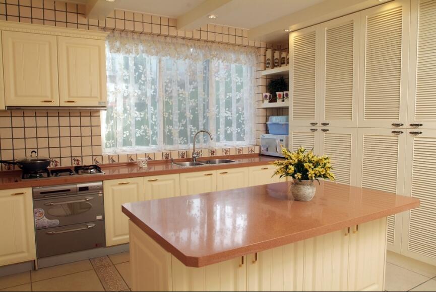 2017 New Design Home Furniture Kitchen Cabinet UV Board Yb1709207