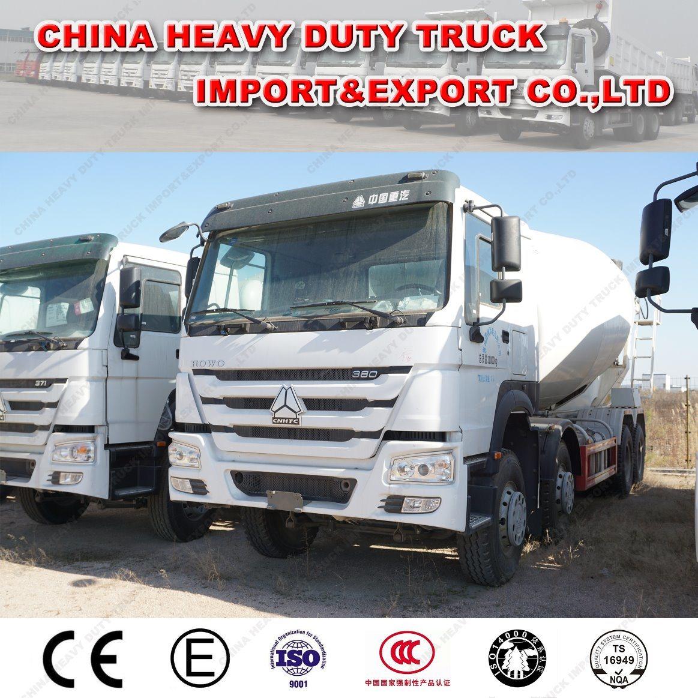 HOWO 8X4 12-16cmb Cement Mixer Tanker Truck