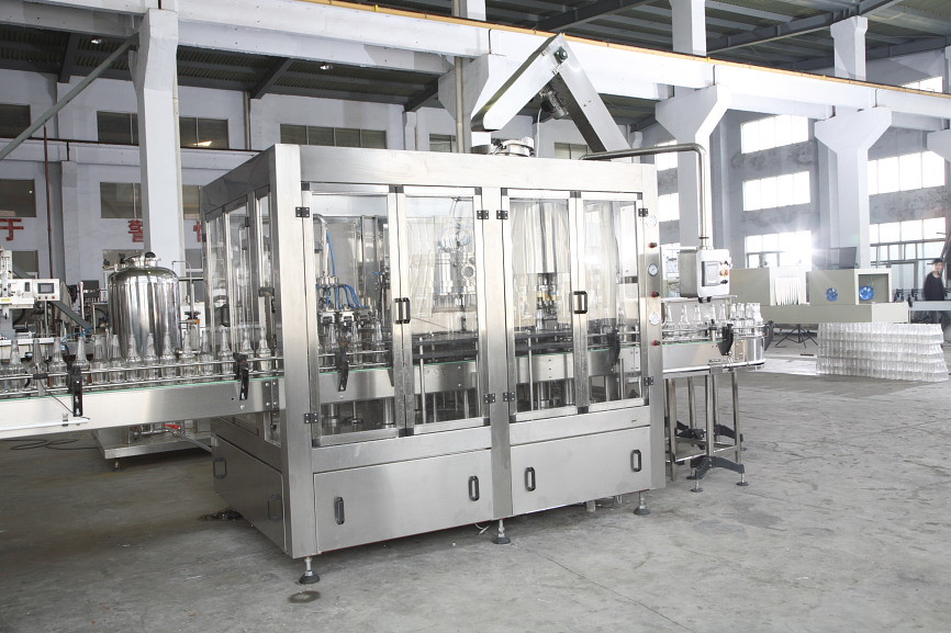 Glass Bottle Wine Bottling Washing Filling Capping Machine