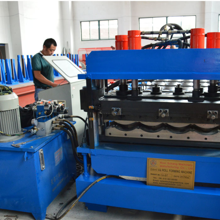 Fully Automatic Glazed Steel Tile Forming Machine