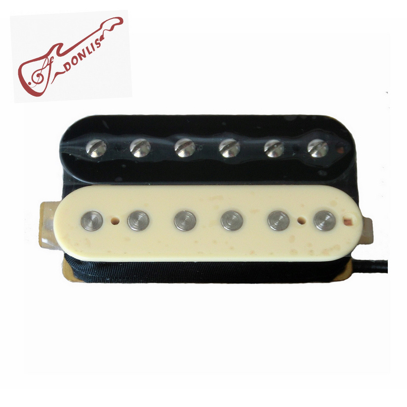 Hot Wholesale AlNiCo 5 Zebra Humbucker Guitar Pickup