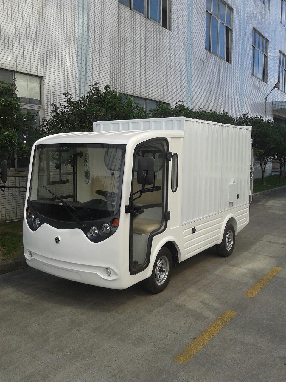White Electric Tow Tractor Truck (LT-S2. B. HX)