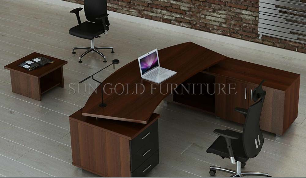 China hot sale office table wood new design ceo desk sz for Incredible modern office table product catalog china
