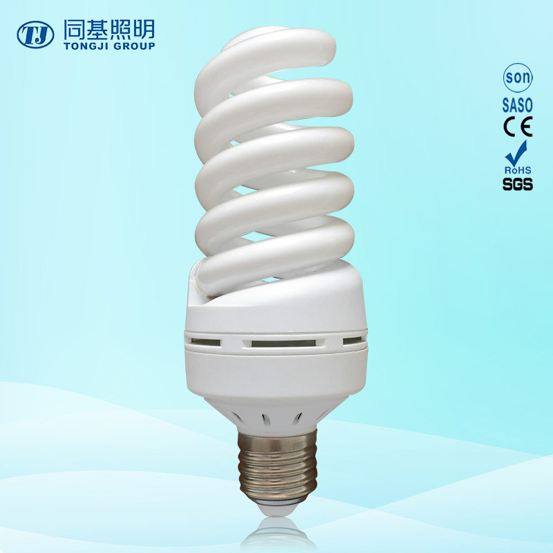 30W 40W Full Spiral CFL with Ce, Energy-Saving Lamp Compact Bulb