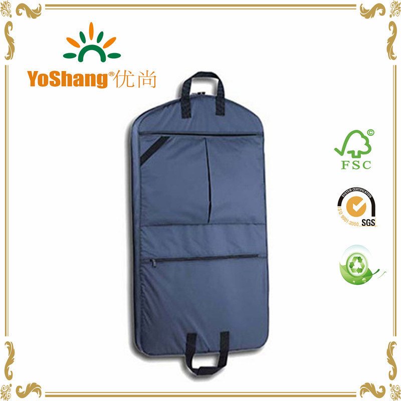Promotion Imprint Customized Logo Garment Bag Suit Cover