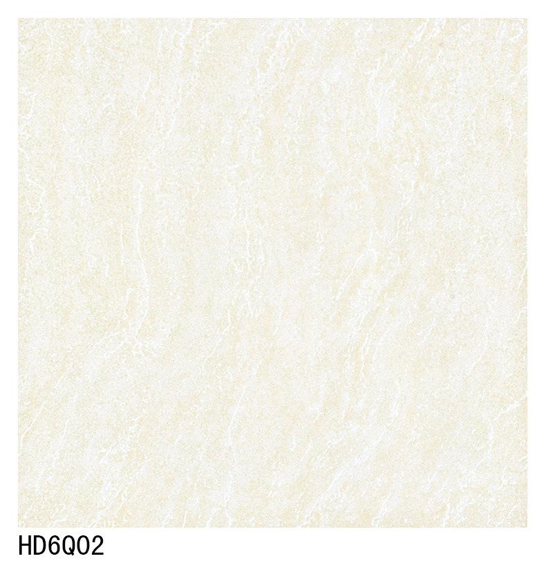 Nano Glossy Soluble Salt Ceramic Floor Tiles 600X600