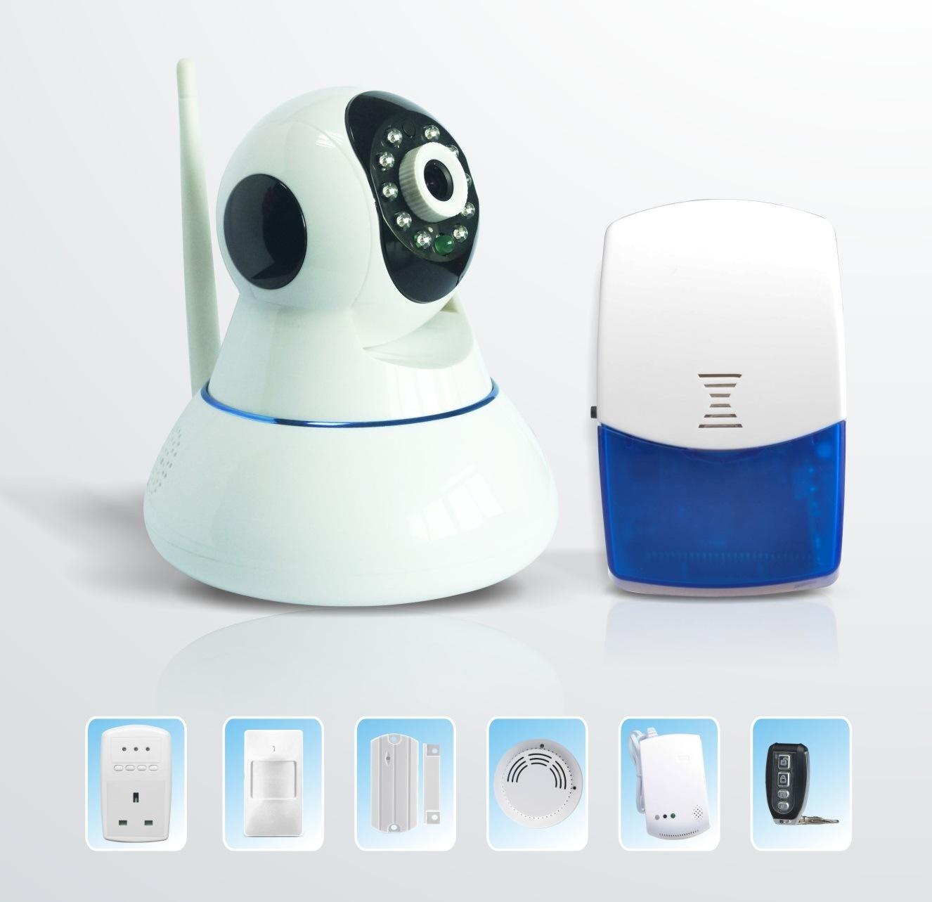 GSM Alarm IP Camera with APP Remote Control (ES-88-GIW)
