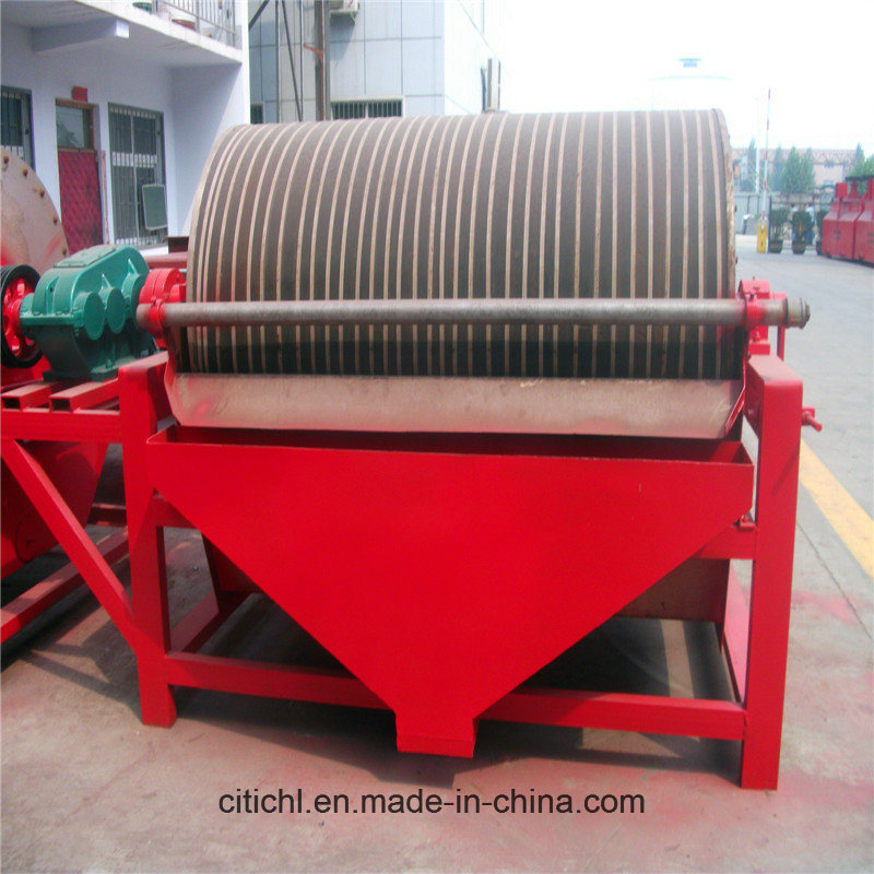 CTB Series Wet Process Permanent Drum Magnetic Separator
