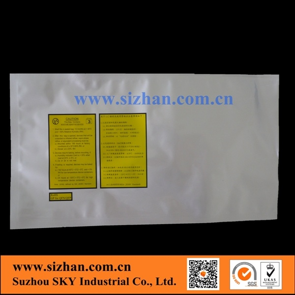 Aluminum Foil Printed Bags for IC or Chips Packing