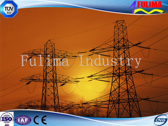10-1000kv Carbon Steel Transmission Line Iron Tower (FLM-ST-013)