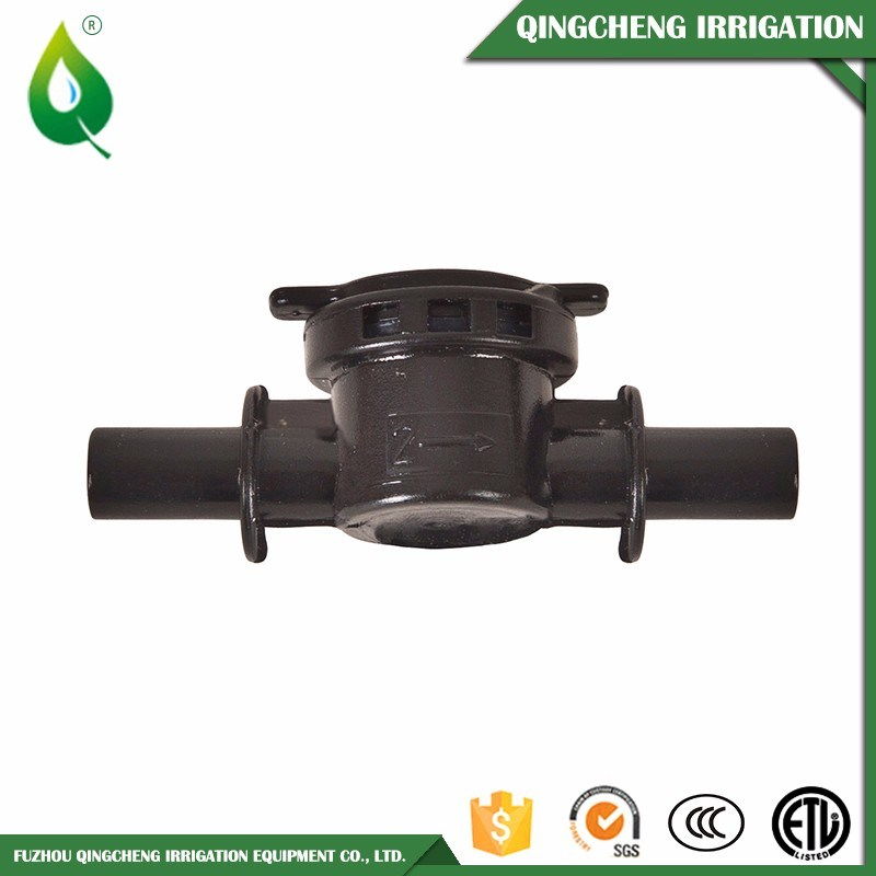 Black Barb Socket Watering Irrigation Anti-Drip Valve