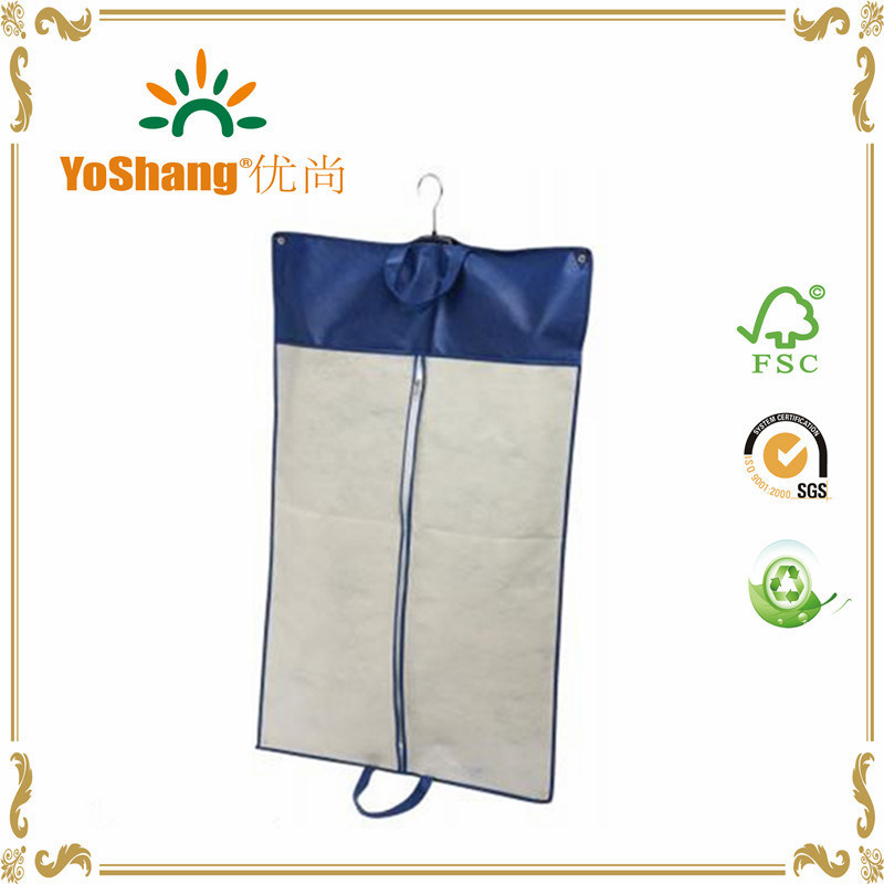 New Fashion Customized Logo Non-Woven Fabric Non Woven Garment Bag Suit Cover