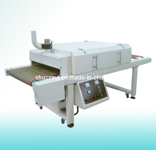 CE Certificated Screen Printing Conveyor Dryer, Textile Tunnel Dryer