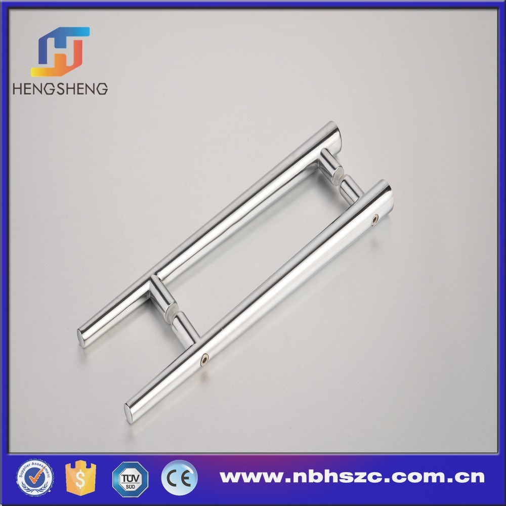 Zinc Alloy Double Sided Shower Door Pull Handle