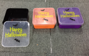 Plastic Food Containers for Halloween and Christmas