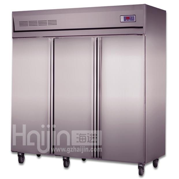 China Stainless Steel Refrigerator/Kitchen Upright Freezer