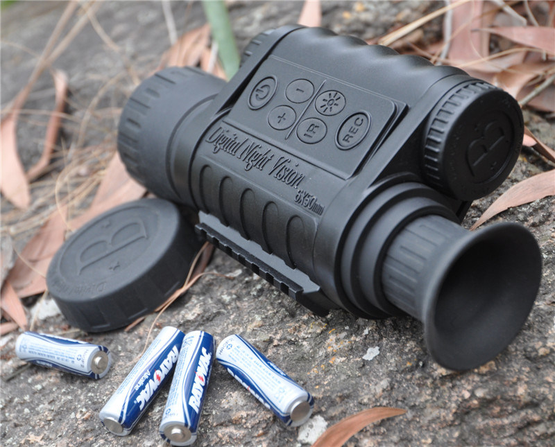 6X50 Monocular Digital Night Vision with 350m Range