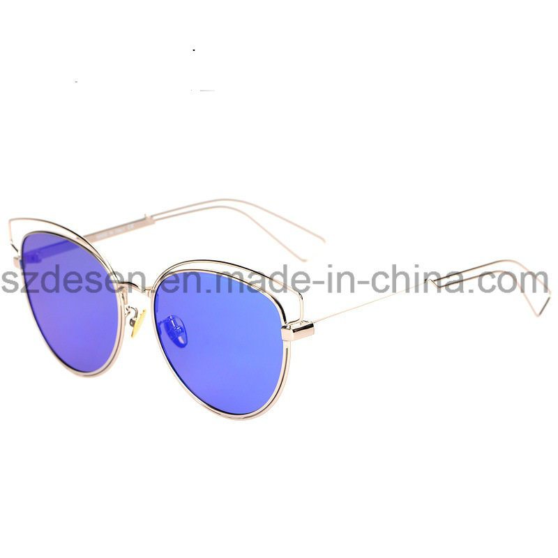 Wholesale fashion Brand Name Metal Sunglasses in Stock