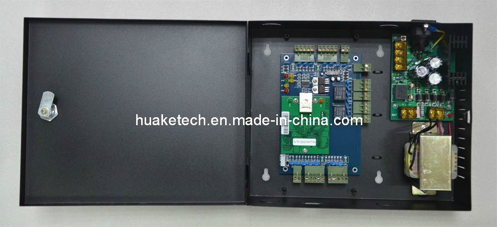 Reliable Anti-Pass Back TCP/IP Webserver Access Control Panel for 2 Door 4 Reader