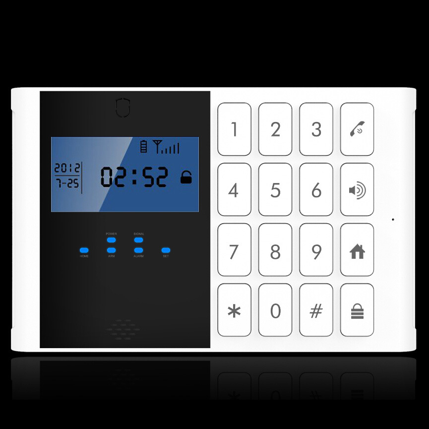 Spanish Voice APP Control GSM Alarm System with 868MHz (YL-007M2C-1)