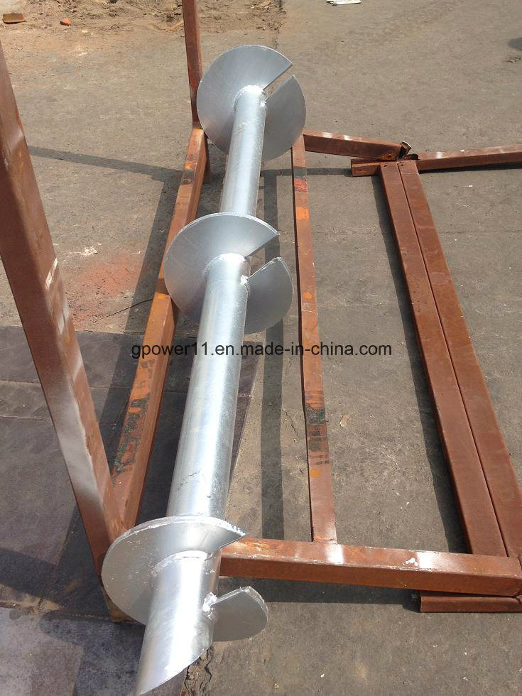 Residential Helical Screw Post Anchor