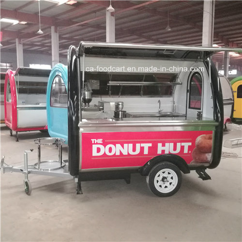 Factory Price Moble Food Cart, Donut Food Cart