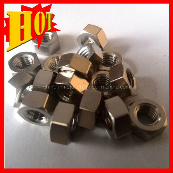 Supply Titanium Gr5 Nuts From China