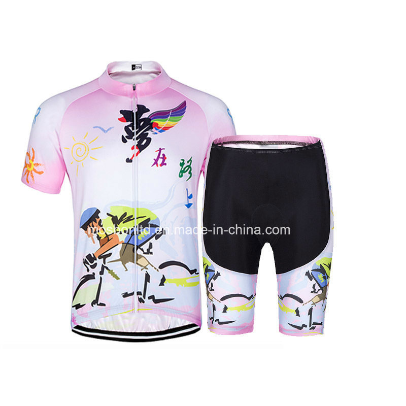 Women Summer Wholesale Cycling Wear Short Sleeve Cycling Jersey/Bike Wear