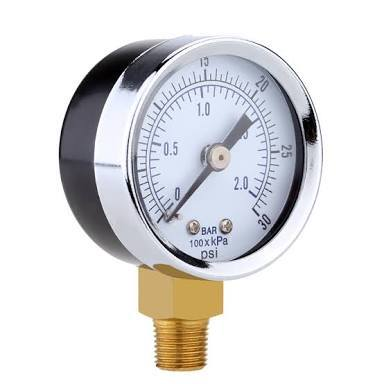 Pressure Gauge of Air Compressor Parts