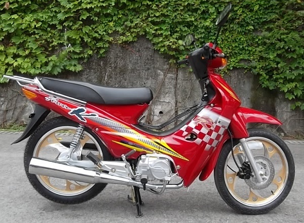 Cub Motorcycle 110cc, High Quality Cheap Price for Westen Africa.