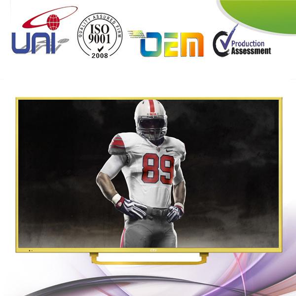 """Uni 50"""" Full HD 1080P Shiny Gold E-LED TV"""