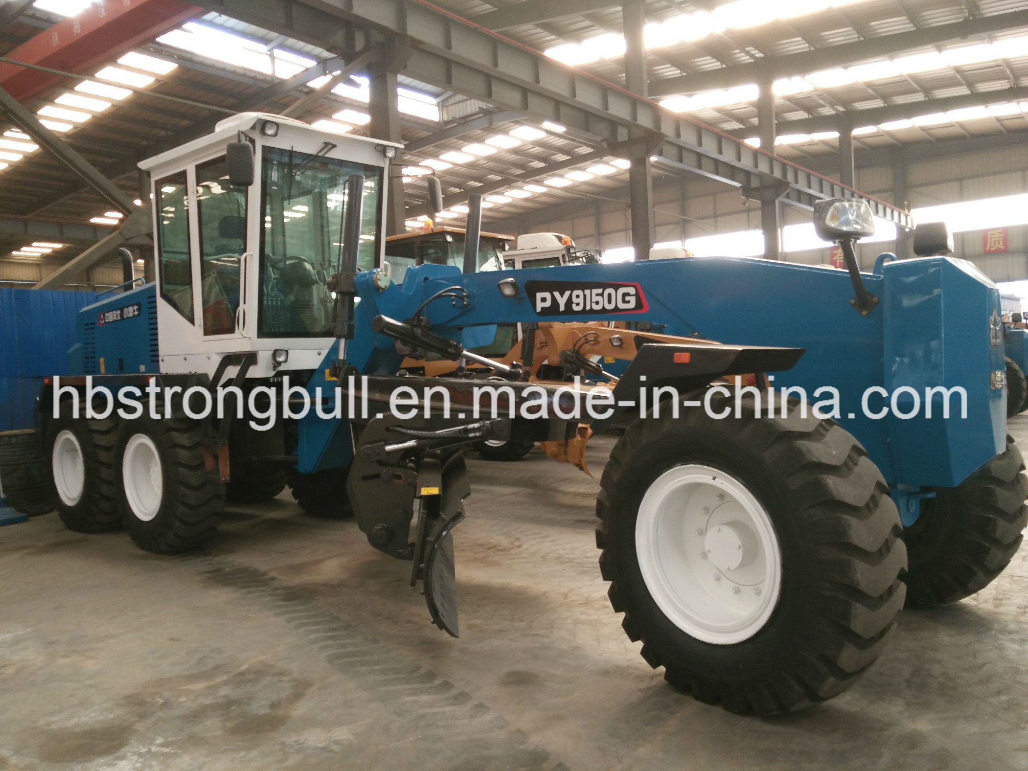 China Road Construction Machine Motor Grader Py9150 New Condition 150HP Tractor Road Grader for Sale