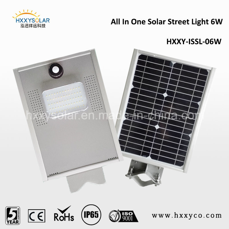 IP65 Outdoor Motion Sensor Integrated All in One Solar LED Street Light
