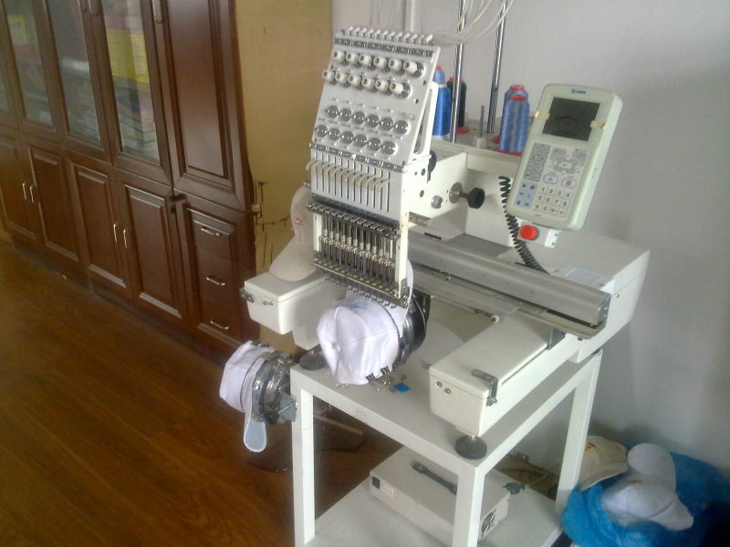 Hye-C1501/Single Head Cap &Garment Embroidery Machine