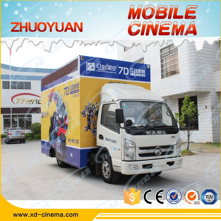 The Most Revenue High-Class Mobile Cinema 5D 7D Cinema