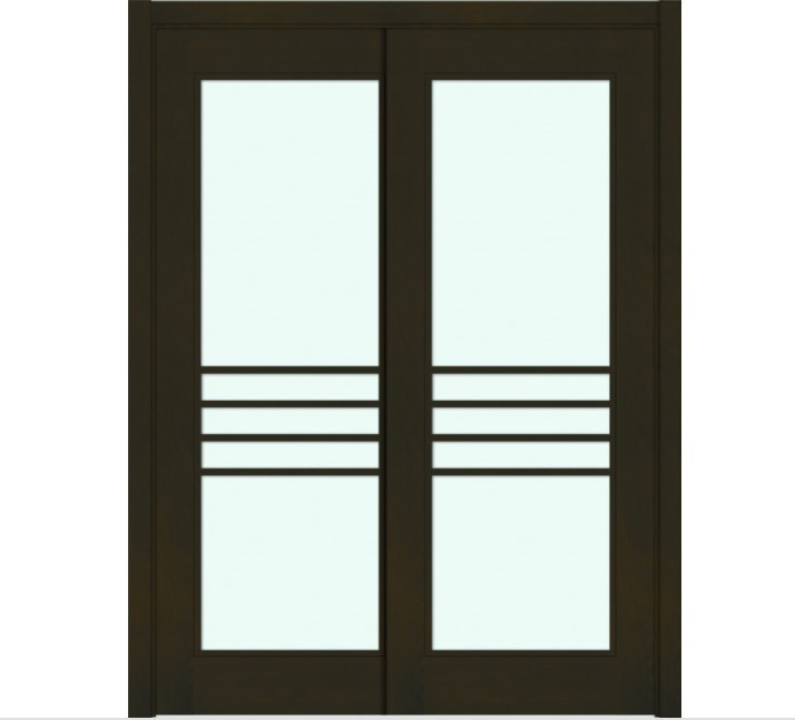 Uye home double slider door for Double sliding doors
