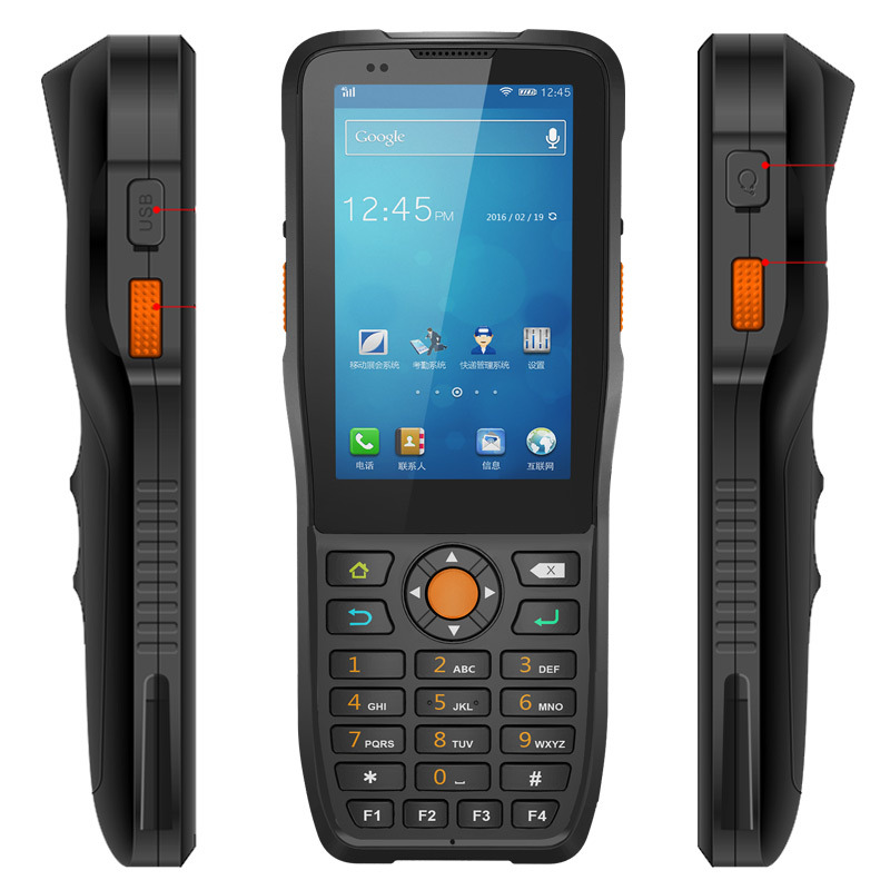 Jepower Ht380k Quad-Core Handheld Terminal Android Industrial PDA Support Barcode Scanner/NFC/4G-Lte
