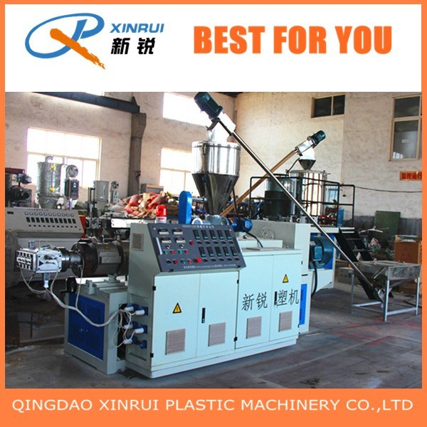 PVC Plastic WPC Decking Board Extrusion Making Machine