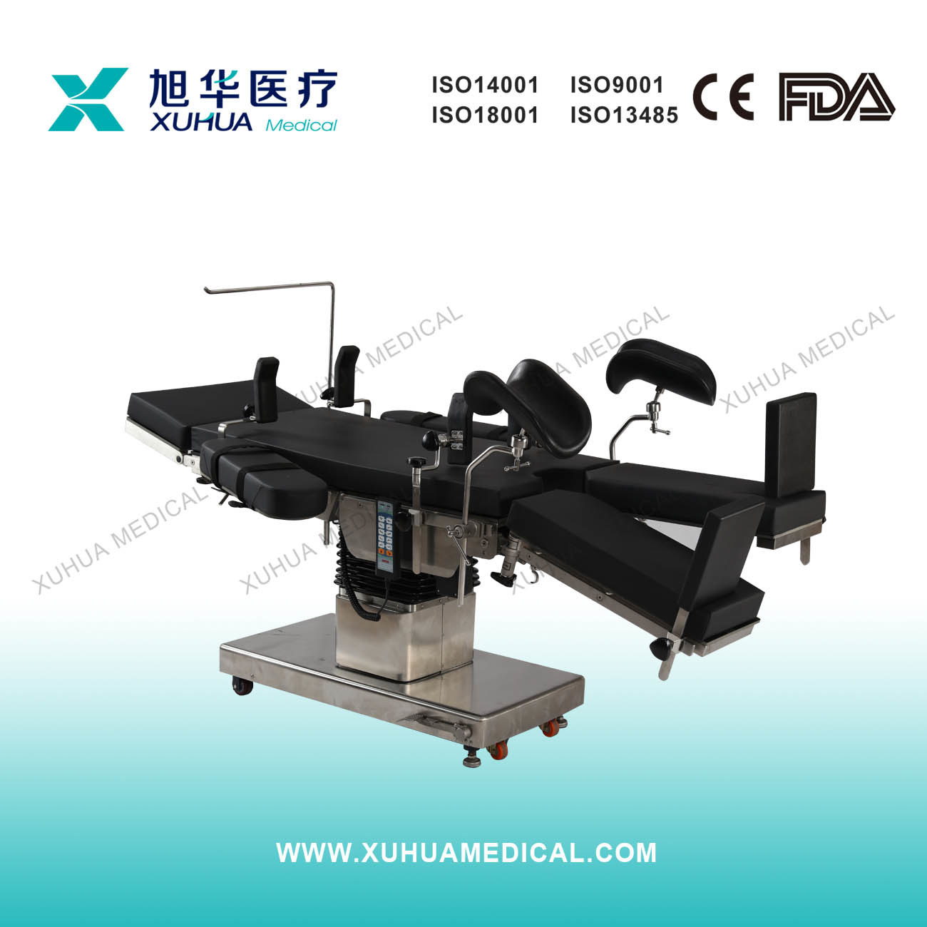 Surgery Instruments C-Arm Electric Operating Table, Radiolucent (XH91OY-1)