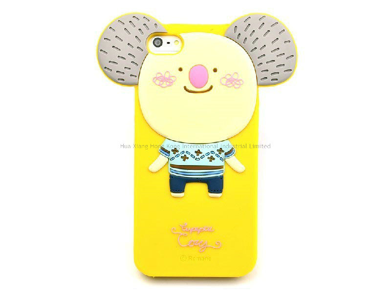 Lovely Silicone for iPhone Case (SPC006)