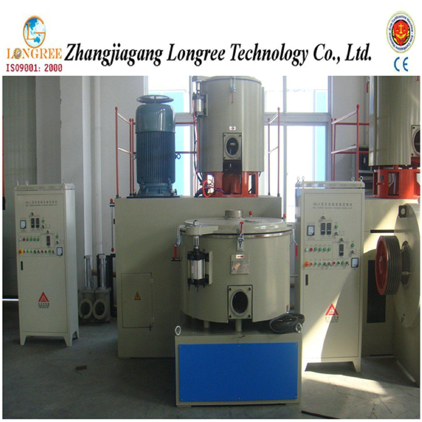 Plastic Mixing Equipment PVC Powder&Pellets Turbo Mixer, Plastic High Speed Mixer Unit Cooling and Hot Mixer