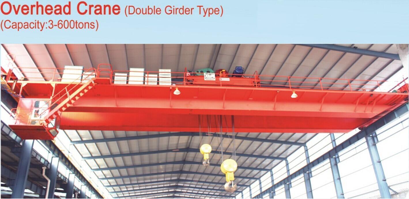 3ton to 600ton Double Girder Type Overhead Crane