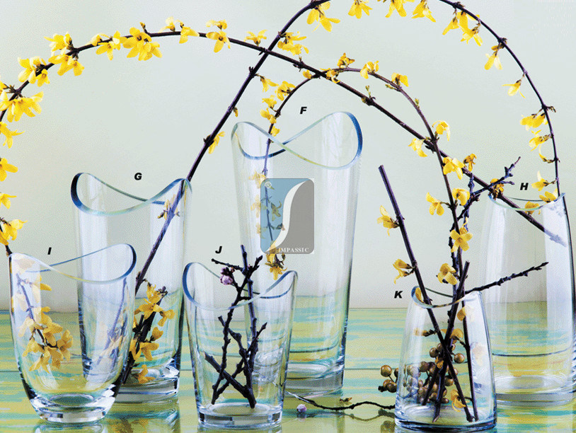 2015 China Factory Selling Flower Glass Vases for Hot Wholesale