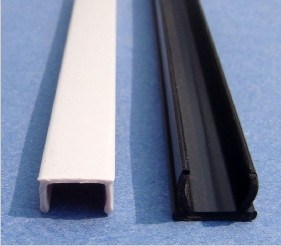 Cover Strip PVC Aluminium Profile Cover/ Groove 6/8/10