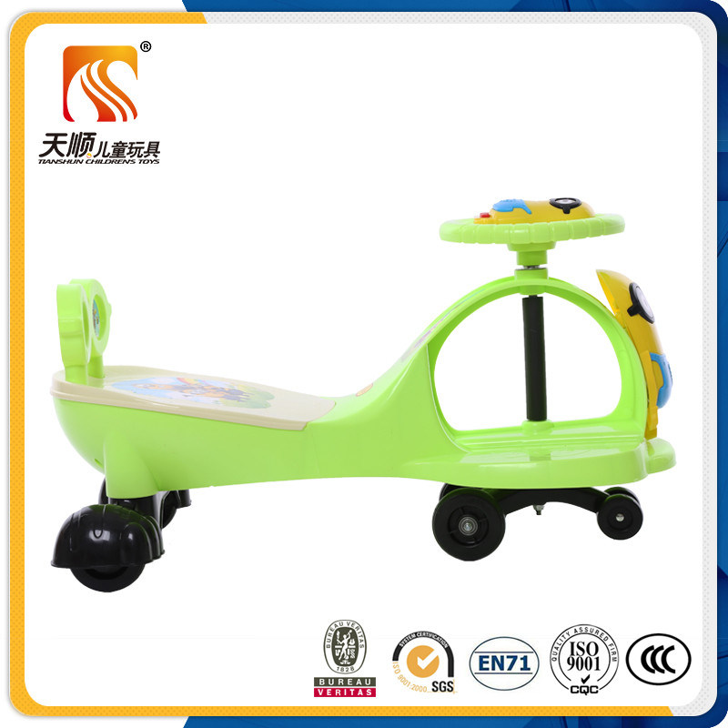 New Fashion Baby Swing Car with Music and Backrest Wholesale