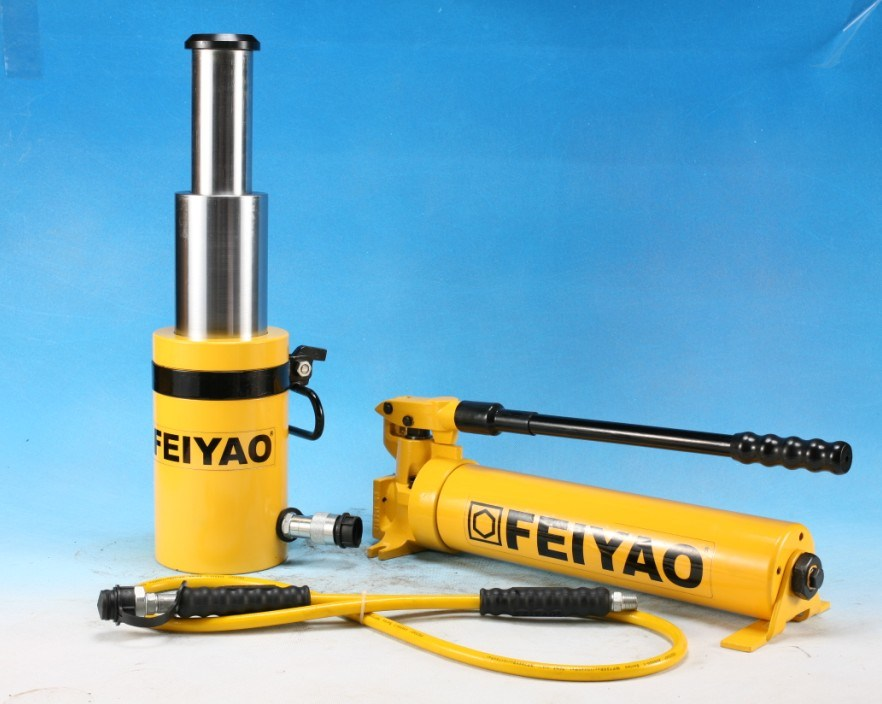 Hydraulic Jack Cylinders : China fy multi stage hydraulic cylinders jack ram photos
