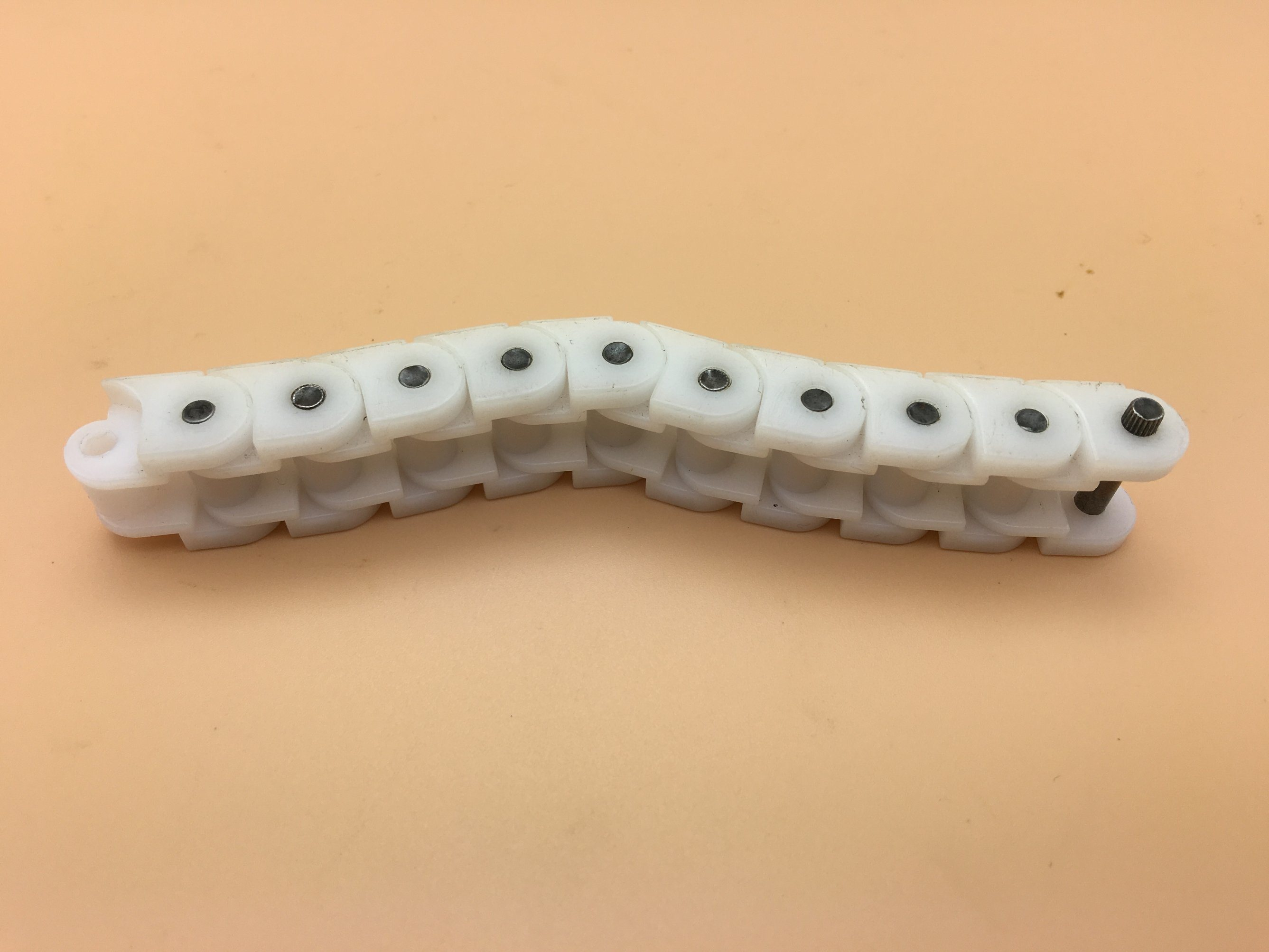 Flat Top Engineering Plastic Conveyor Chain 60p