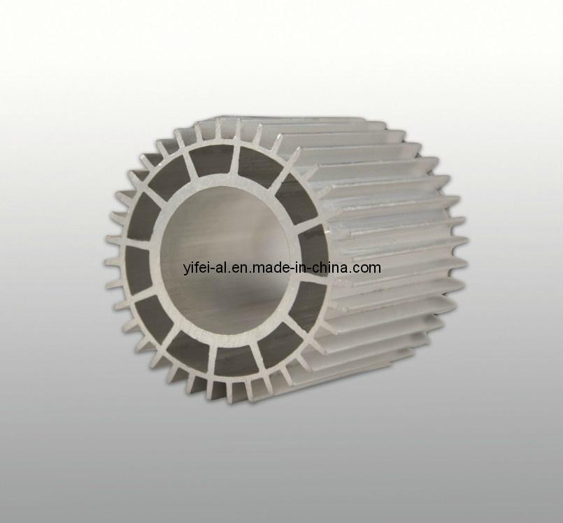 Aluminum/Aluminium Alloy Extrution Anodized Pneumatic Profile for Cylinder