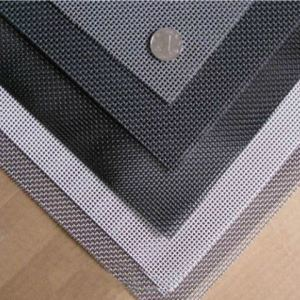 PVC Coated Fibreglass Insect Mesh Netting Net, Fly Mosquito Screen 1m X 30m Grey